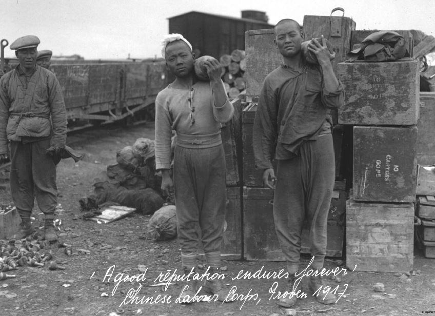 Chinese gastarbeiders
